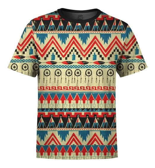 Camiseta Masculina Étnica Tribal Africana Md07