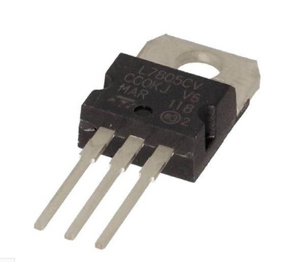 5 Peças Regulador De Tensão 5v L7805 L7805cv
