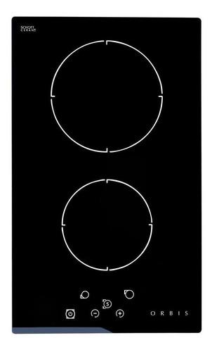 Imagen 1 de 1 de Anafe eléctrico Orbis EV2OEO negro 220V