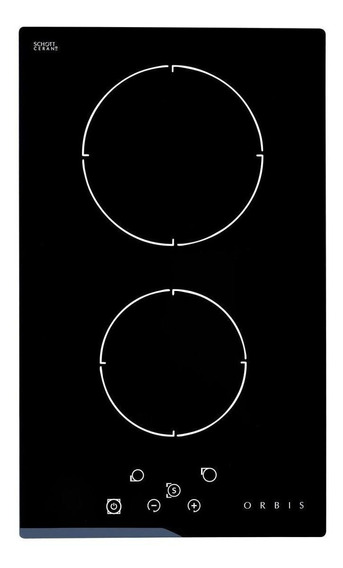 Anafe eléctrico Orbis EV2OEO negro 220V