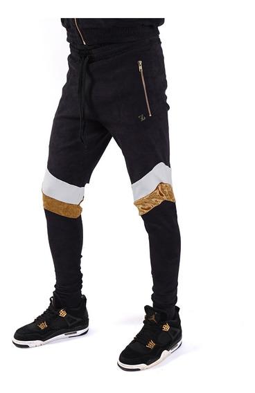 Pantalón Hombre Gamuza Elastizada Velvet Vip Billionz 4125