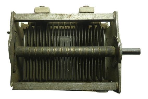 Capacitor Variable Para Transmisión 110 P F Usado - Made In U S A