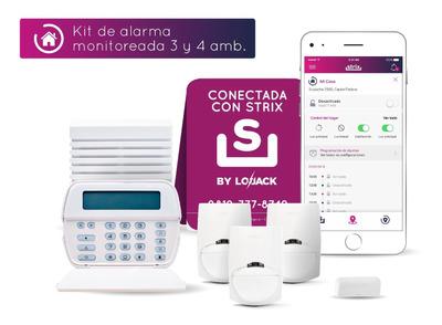 Alarma Para Casa O Departamento 3 Y 4 Amb. Strix By Lojack