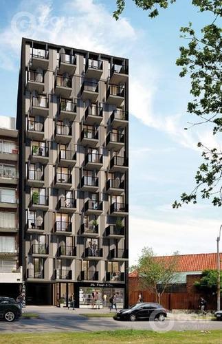 Vendo Monoambiente Con Terraza Al Frente, En Construcción Para 08/2021, Sobre 26 De Marzo, Pocitos