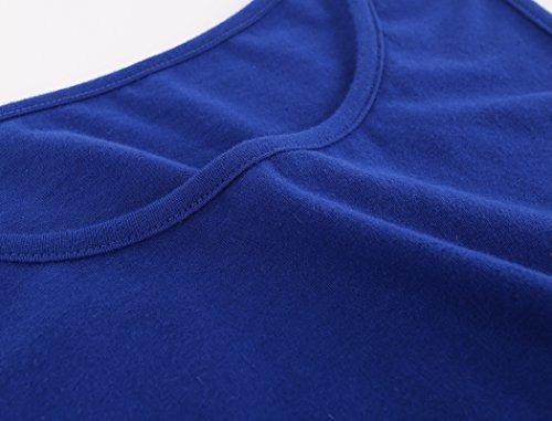 Algod/ón de Las Mujeres Acanalada Camisa de Maternidad de Verano de Cami de la Cintura Top de Maternidad Embarazada ZUMIY Top Premam/á
