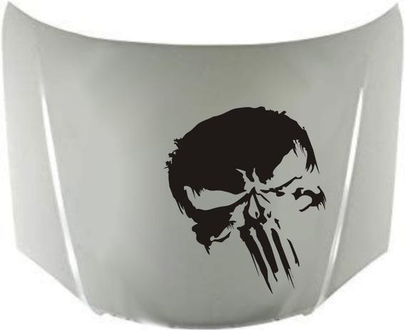 Calcos Punisher Para Capot + Regalo !! Graficastuning 0001