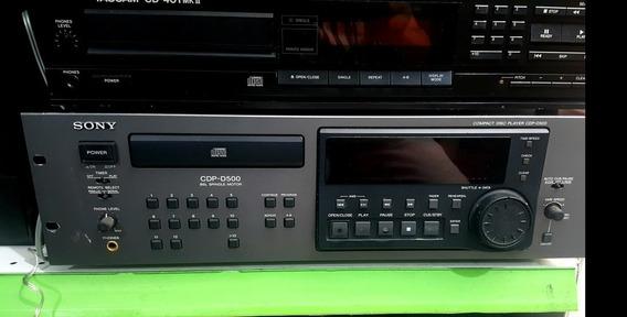 Sony Cdp-d500
