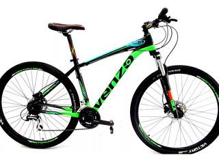 Bicicleta Mtb Venzo Primal 24v Disco Hidraulico - Racer