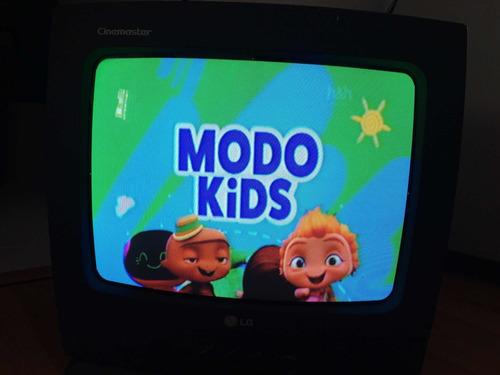 Imagen 1 de 7 de Televisor Usado Barato + 5 Dvds Gratis LG Negro - Tv Vintage