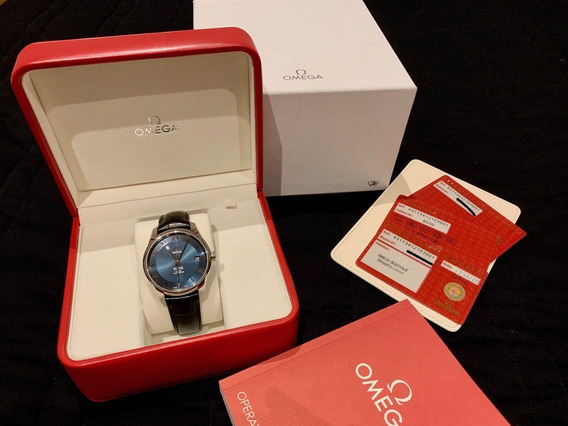 Relógio Omega De Ville Original Perfeito Com Nf Brasileira