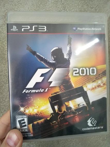 F1 2010 Ps3 Mídia Física Original Pronta Entrega Fórmula 1