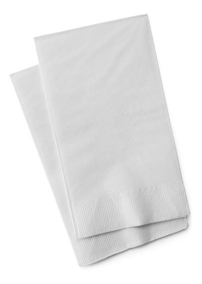 Servilletas Blancas Tissue Premium 2hoja 40x40x600u Valot
