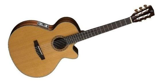 Guitarra Electrocriolla Cort Cec7-nat Eq Fishman Rd Music