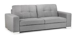 Sillon , Sofa De 2/3 Cuerpos C/patas En Metal