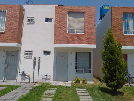 Casa Seminueva Condominio Horizontal San Francisco Coacalco Con Terreno Trasero