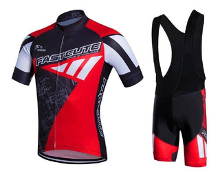 Roupa Ciclismo Masculino Bretelle + Camisa Bike Várias Cores