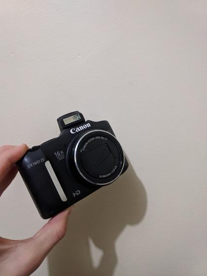 Câmera Semi-profissional, Ótima Qualidade,modelo Sx160 Is