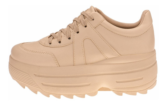 Tenis Feminino Plataforma Sapatenis Sapato Alto Conforto G13