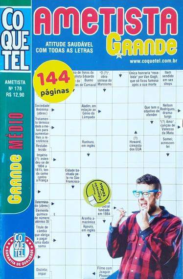 04 Palavras Cruzadas Ametista Médio Coquetel 144pgs C/vol.