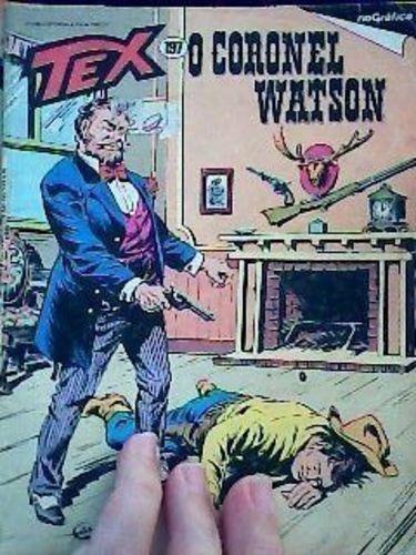 Revista Tex Nº197 Coronel Watson Vários