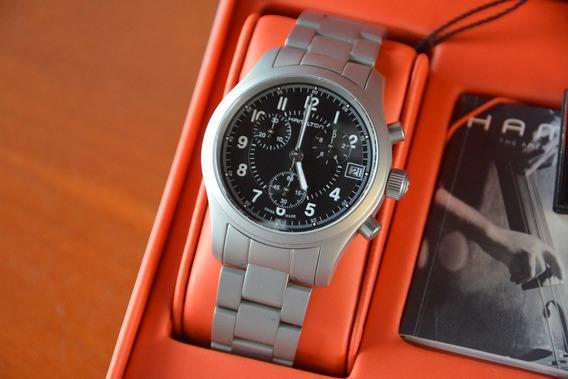 Reloj Hamilton Khaki Chrono H685820