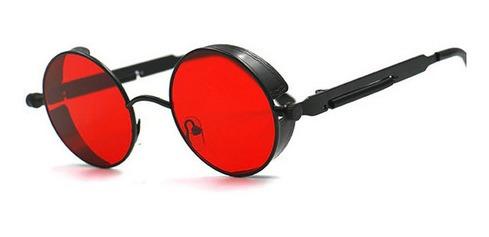 Gafas Vintage Polarized Round Redondas Mirror En Stock