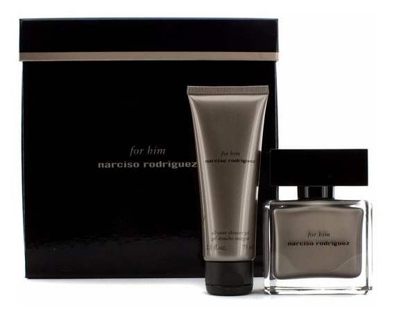 Kit Narciso Rodriguez Masculino Eau De Parfum ( Perfume 50 Ml + Shower Gel 75 Ml ) - Selo Adipec