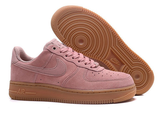 Zapatillas Nike Air Force 1 `07 Se Particle Pink Talle 37.5