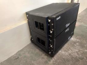 Caixa Line Array Ativa Ab210 Leacs