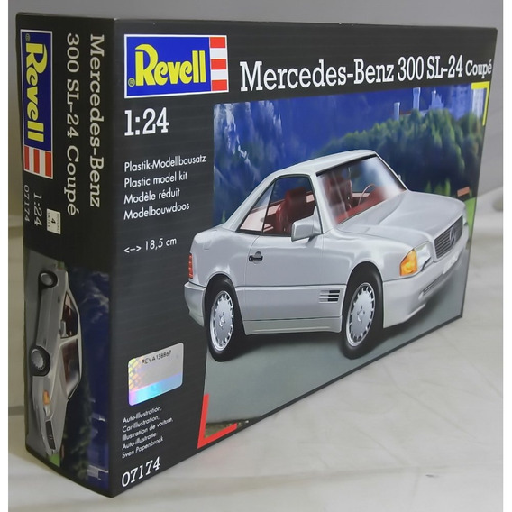 Mercedes Benz 300 Sl 24 Coupe 1/24 Revell-envio Gratis