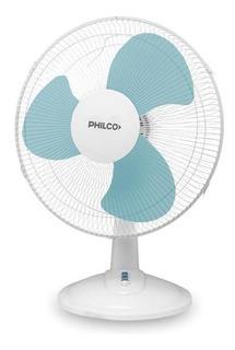Ventilador De Mesa Philco Vmp1618 16 3 Velocidades, Blanco