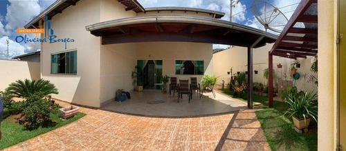Imagem 1 de 15 de Casa Com 3 Dormitórios À Venda, 134 M² Por R$ 360.000,00 - Vila Jaiara - Anápolis/go - Ca1881