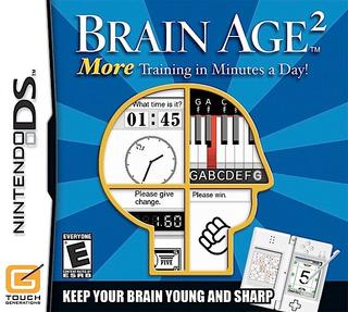 Juego Brain Age 2 Consola Nintendo Ds Dsi 3ds