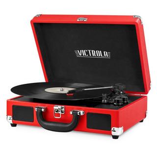 Victrola Vsc-550bt Red Tornamesa Parlante Bluetooth