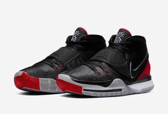 Nike Kyrie Vi 6 Bred 30 Mx Jordan Lebron Kd Kobe Curry Nba