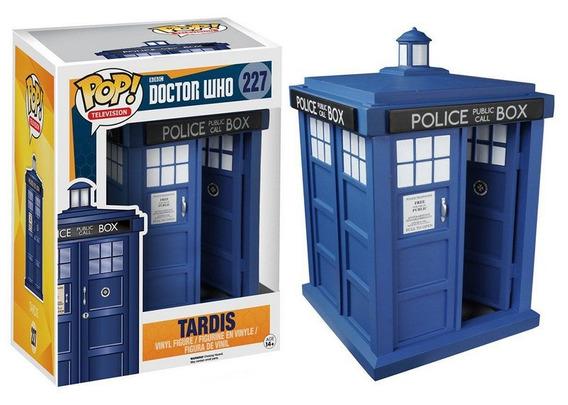 Estatueta Funko Pop! Television Doctor Who - Tardis 6