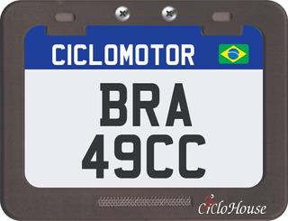 Placa De Identificação Para Shineray 49cc Lançamento Br