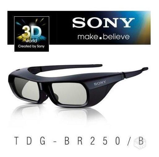 Oculos 3d Sony Tdg-br250/b - Original Para Tvs Sony