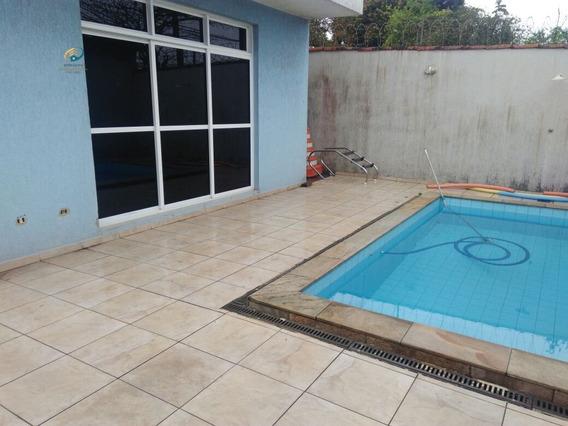 Casa A Venda No Bairro Vila Santa Rosa Em Guarujá - Sp. - 381-1
