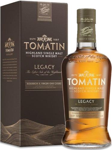 Imagen 1 de 9 de Whisky Tomatin Legacy Single Malt 700ml En Estuche