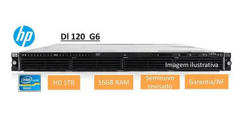 Servidor  Hp Dl120 G6 Rack 1u 16gb Hd1tb