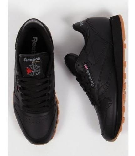 Tenis Reebok Classic Leather Negro + Envgratis