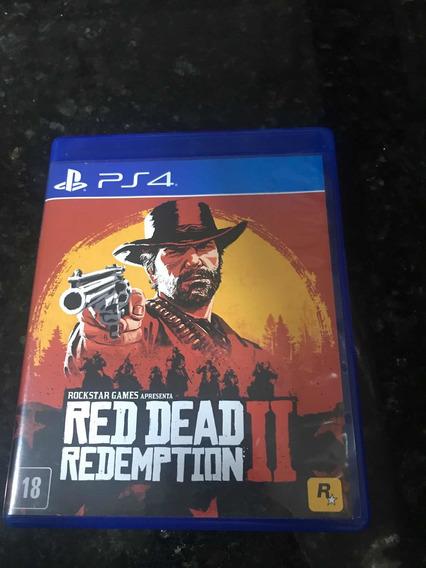 Jogo Ps4 Red Dead Redemption 2 Original Mídia Física