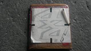 Calcomania Guardafango Letras 4x4 F250 Superdutty