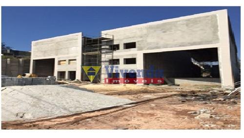 Imagem 1 de 5 de Galpão Em Construção Para Venda Com Poço De Água, Doca E Ótimo Recuo Frontal - As16505