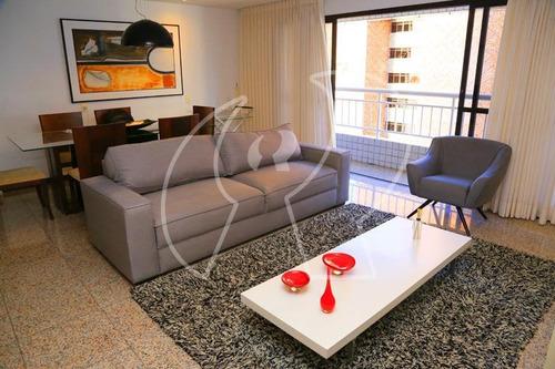 Apartamento Com 3 Dormitórios À Venda, 134 M² Por R$ 1.200.000,00 - Meireles - Fortaleza/ce - Ap2129