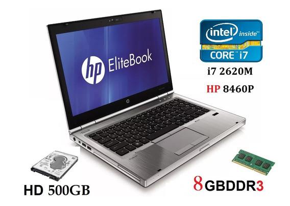 Notebook Hp I7 8gb Ram/ Hd Com Garantia, Promoção