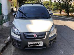 Fiat Idea 1.8 16v Adventure Flex Dualogic Branca 2015/2016