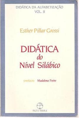 Didática Do Nível Silábico Esther Pillar Gros