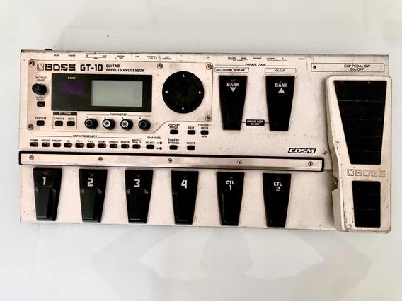 Pedaleira Gt10 Boss (usada)